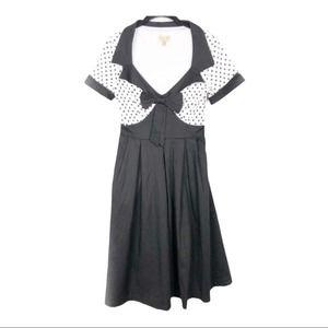 Lindy Bop Polka dot retro pin up rockabilly dress